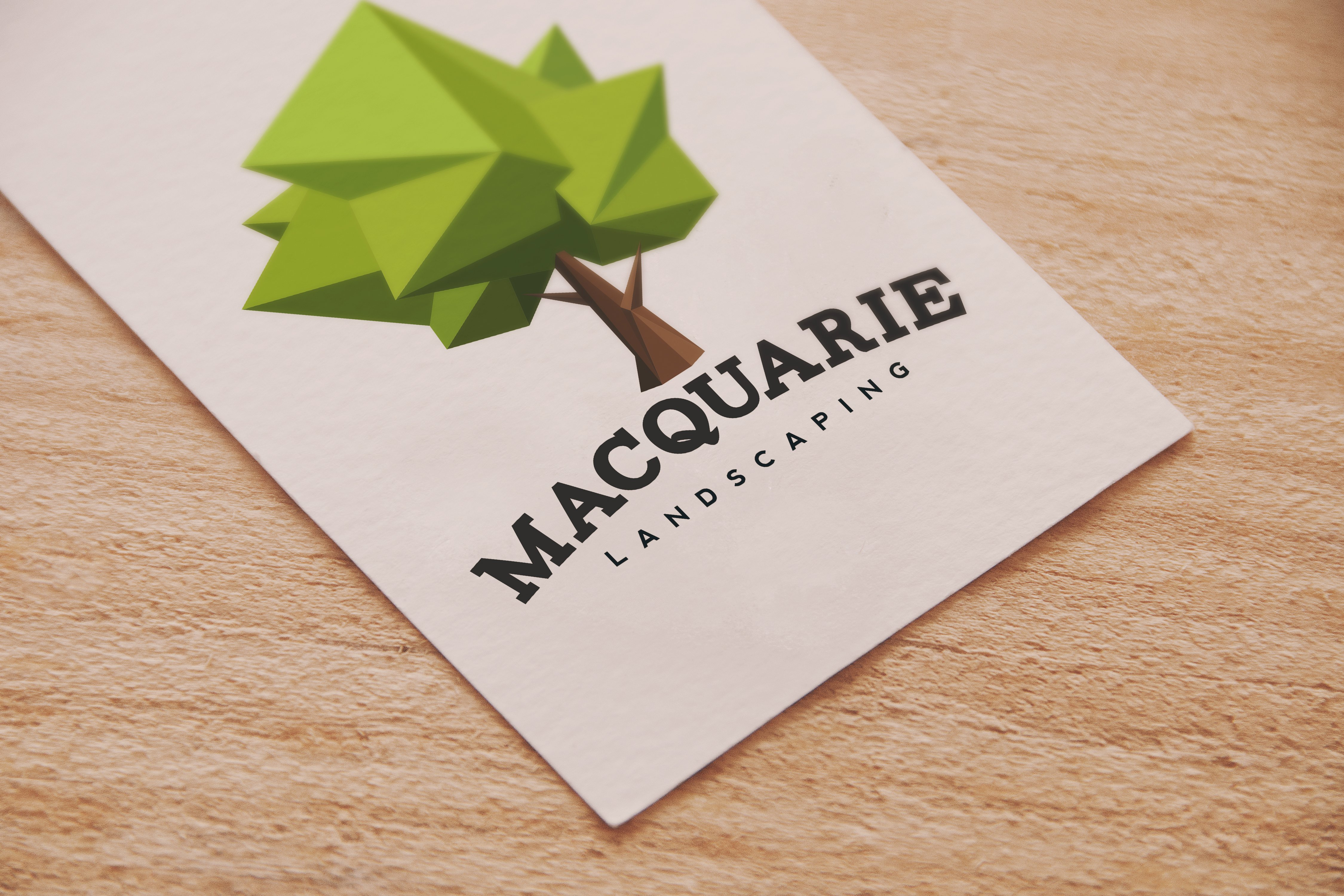 MACQUARIE LANDSCAPING LOGO